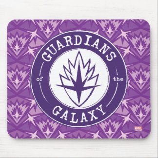 Guardians of the Galaxy | Round Vintage Logo Mouse Pad