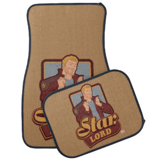 Guardians of the Galaxy | Star-Lord Cartoon Icon Car Mat