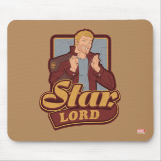 Guardians of the Galaxy | Star-Lord Cartoon Icon Mouse Pad