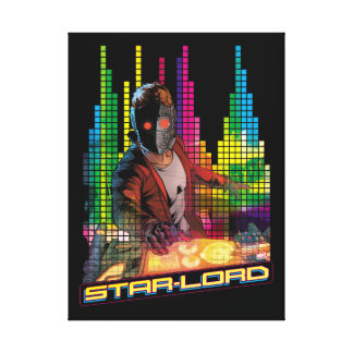 Guardians of the Galaxy | Star-Lord DJ Canvas Print