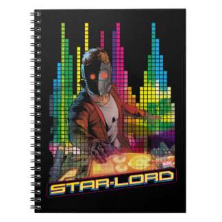 Guardians of the Galaxy | Star-Lord DJ Notebook