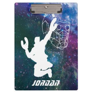 Guardians of the Galaxy | Star-Lord Galaxy Cutout Clipboard