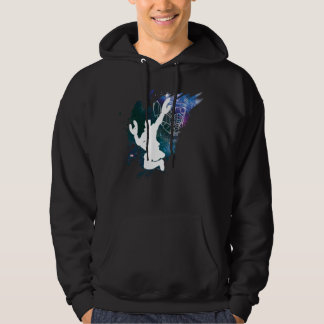 Guardians of the Galaxy   Star-Lord Galaxy Cutout Hoodie