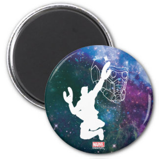 Guardians of the Galaxy | Star-Lord Galaxy Cutout Magnet