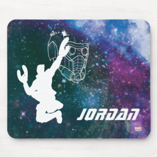 Guardians of the Galaxy | Star-Lord Galaxy Cutout Mouse Pad
