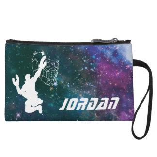 Guardians of the Galaxy | Star-Lord Galaxy Cutout Wristlet Purses
