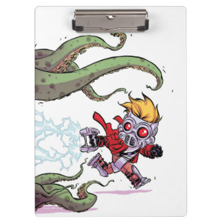 Guardians of the Galaxy | Star-Lord Gets Away Clipboards