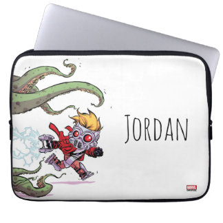 Guardians of the Galaxy   Star-Lord Gets Away Laptop Sleeve