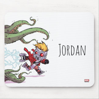 Guardians of the Galaxy | Star-Lord Gets Away Mouse Pad