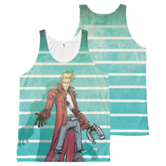 Guardians of the Galaxy | Star-Lord Mugshot All-Over Print Singlet