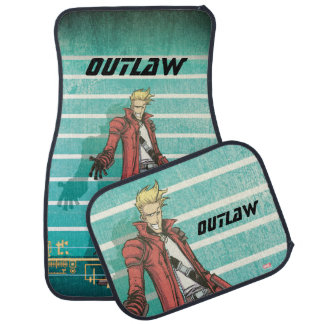 Guardians of the Galaxy | Star-Lord Mugshot Car Mat