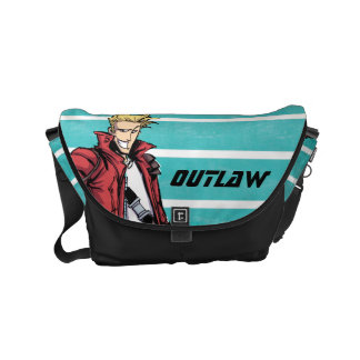 Guardians of the Galaxy | Star-Lord Mugshot Courier Bags