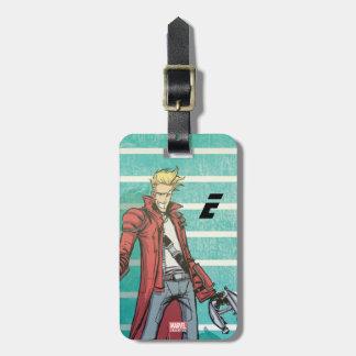 Guardians of the Galaxy | Star-Lord Mugshot Luggage Tag