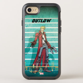 Guardians of the Galaxy | Star-Lord Mugshot OtterBox Symmetry iPhone 8/7 Case