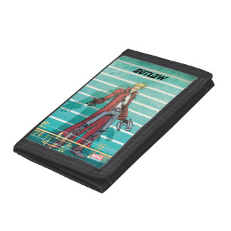 Guardians of the Galaxy | Star-Lord Mugshot Trifold Wallets