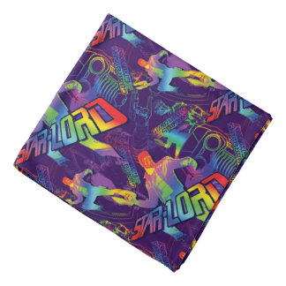 Guardians of the Galaxy | Star-Lord Neon Graphic Bandana