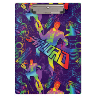 Guardians of the Galaxy | Star-Lord Neon Graphic Clipboards