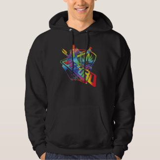 Guardians of the Galaxy   Star-Lord Neon Graphic Hoodie