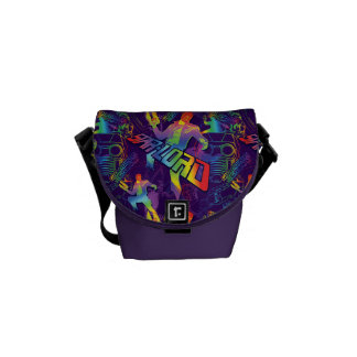 Guardians of the Galaxy | Star-Lord Neon Graphic Messenger Bags