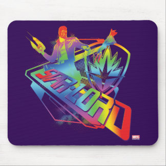 Guardians of the Galaxy | Star-Lord Neon Graphic Mouse Pad