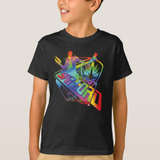 Guardians of the Galaxy | Star-Lord Neon Graphic T-Shirt