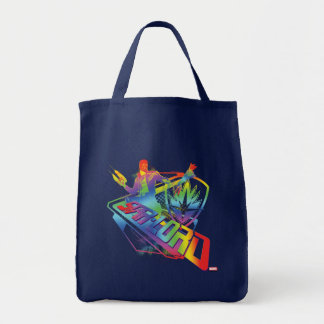 Guardians of the Galaxy | Star-Lord Neon Graphic Tote Bag
