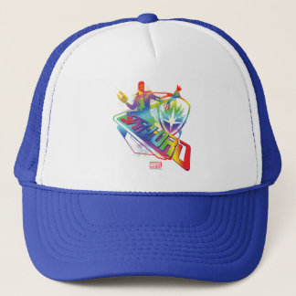 Guardians of the Galaxy | Star-Lord Neon Graphic Trucker Hat