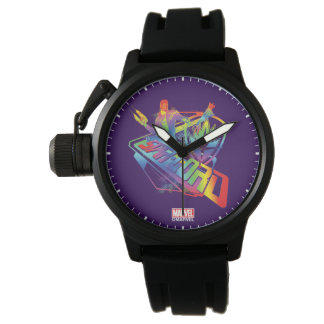 Guardians of the Galaxy | Star-Lord Neon Graphic Watch