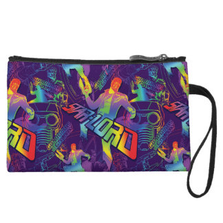 Guardians of the Galaxy | Star-Lord Neon Graphic Wristlet Purse