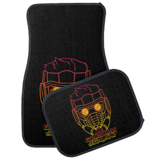 Guardians of the Galaxy | Star-Lord Neon Outline Floor Mat