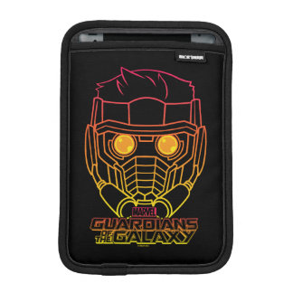 Guardians of the Galaxy | Star-Lord Neon Outline iPad Mini Sleeve