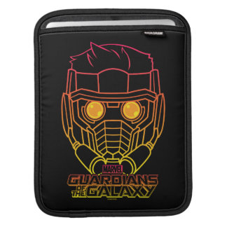 Guardians of the Galaxy | Star-Lord Neon Outline iPad Sleeve