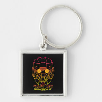 Guardians of the Galaxy | Star-Lord Neon Outline Key Ring