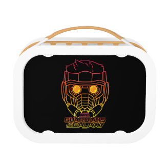 Guardians of the Galaxy | Star-Lord Neon Outline Lunch Box