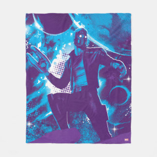 Guardians of the Galaxy | Star-Lord On Planet Fleece Blanket