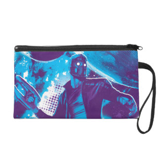 Guardians of the Galaxy | Star-Lord On Planet Wristlet Clutch