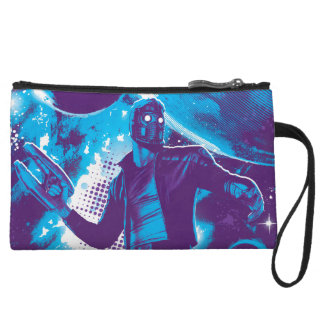 Guardians of the Galaxy   Star-Lord On Planet Wristlet Purses