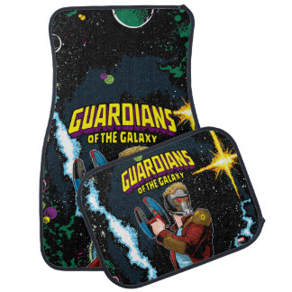 Guardians of the Galaxy | Star-Lord Retro Comic Car Mat
