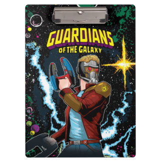 Guardians of the Galaxy | Star-Lord Retro Comic Clipboard