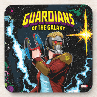 Guardians of the Galaxy | Star-Lord Retro Comic Coaster