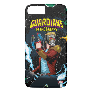 Guardians of the Galaxy | Star-Lord Retro Comic iPhone 8 Plus/7 Plus Case