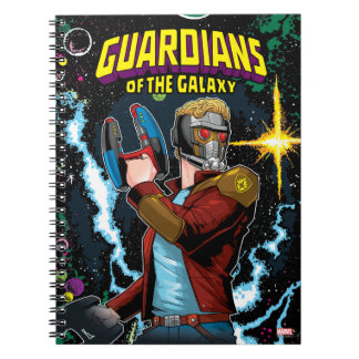 Guardians of the Galaxy | Star-Lord Retro Comic Notebooks
