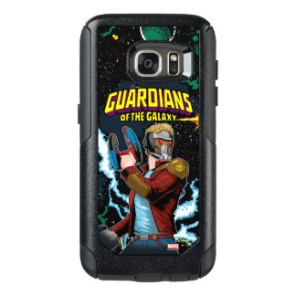 Guardians of the Galaxy   Star-Lord Retro Comic OtterBox Samsung Galaxy S7 Case