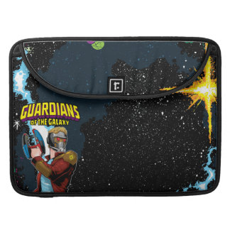 Guardians of the Galaxy | Star-Lord Retro Comic Sleeve For MacBooks