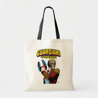 Guardians of the Galaxy | Star-Lord Retro Comic Tote Bag