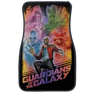 Guardians of the Galaxy | Technicolor Crew Art Car Mat