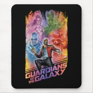 Guardians of the Galaxy | Technicolor Crew Art Mouse Pad