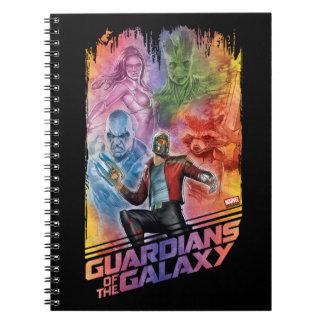 Guardians of the Galaxy | Technicolor Crew Art Notebook