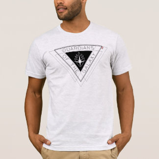 Guardians of the Galaxy | Triangle Logo Badge T-Shirt