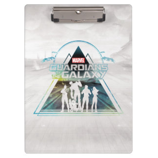 Guardians of the Galaxy | Triangle Outline Crew Clipboard